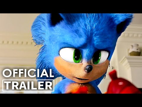 SONIC THE HEDGEHOG Best Movie Clips & Trailer (NEW 2020)