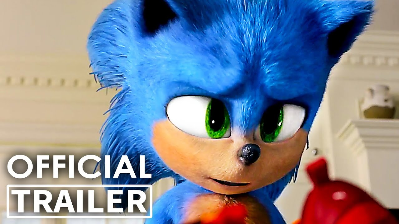 Sonic The Hedgehog Best Movie Clips Trailer New 2020 Youtube