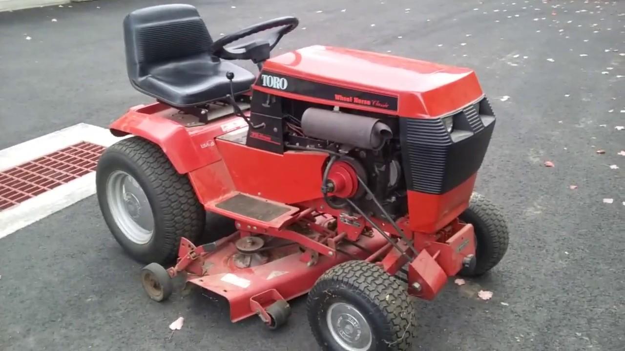 Toro 312 Hydro Garden Tractor