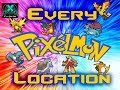 Where to Find all Pokemon in Pixelmon!