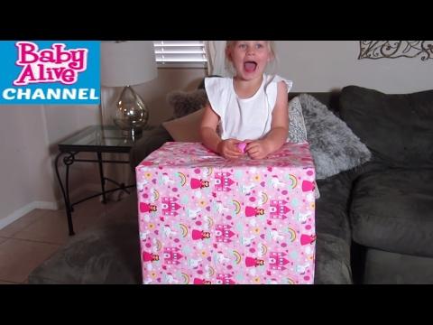 BABY ALIVE Big Princess Present! Walmart MY LIFE AS Haul with Heather & Elsa