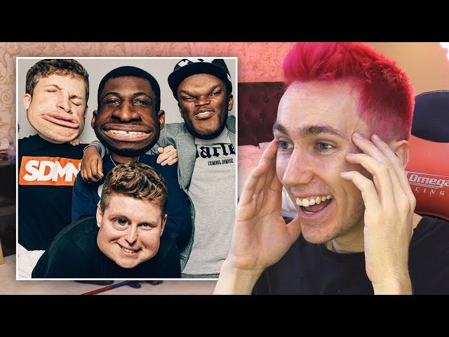 REACTING TO WEIRD SIDEMEN EDITS