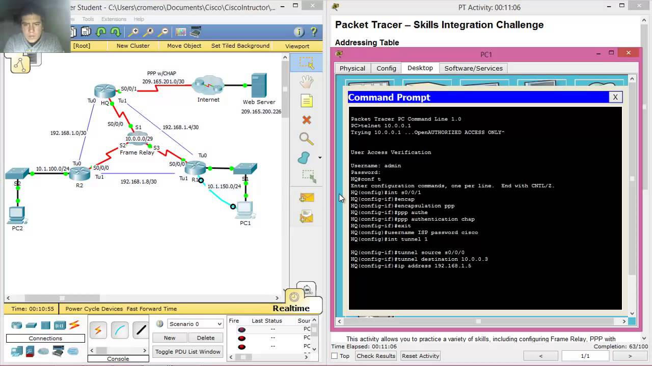 7.5.1.2 Packet Tracer - Skills Integration Challenge - clipzui.com
