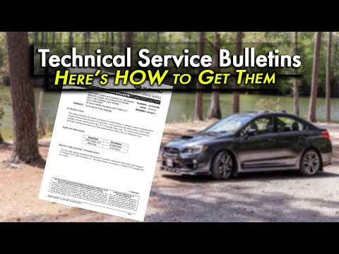 How To Get Technical Service Bulletins (TSBs) For Your Car