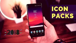 Top 10 Premium Android Icon Packs | January 2018 | Free Icon Packs