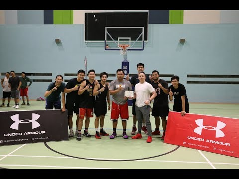 A Day with Michael James at the Under Armour Basketball x Glorius Pick Up Game Volume 2!