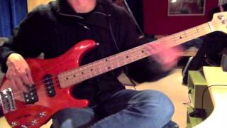 Simple Minds - Waterfront (Bass Cover)