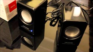 Microlab MD122 Portable USB speakers Unboxing and Overview