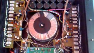 Holton Hexfet własnej roboty av 400 al 13 (6 par IRFP) 2x550W/4Ohm