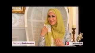 Tutorial Hijab a la Marini Zumarnis Part 3