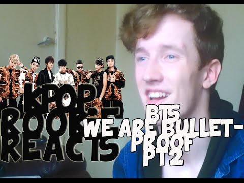 [KPOP ROOKIE] BTS(방탄소년단) - We Are Bulletproof Pt2 MV REACTION