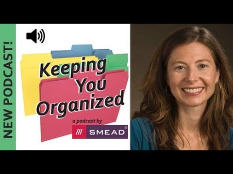 How To Set Up A Productive Office - Keeping You Organized Podcast 095