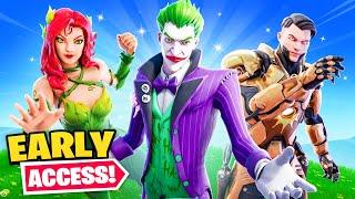 *NEW* Joker Skin in Fortnite (Early Access)