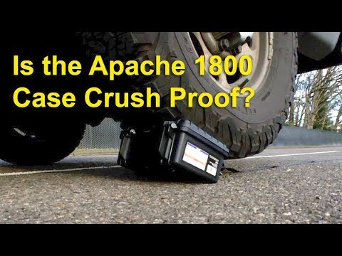 Harbor Freight Apache 1800 vs Pelican 1150 Case Extreme Durability Test, Water Test, Updated Review