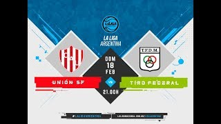 LaLigaArgentina 18.02.2018 Unin de Santa Fe vs. BHY Tiro Federal