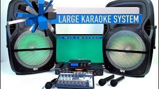 Bluetooth Karaoke Machine | Professional Karaoke Mixer | Wireless Mics ✅ Home Karaoke 800-557-SING