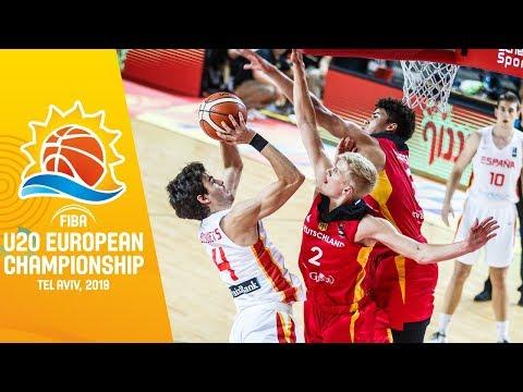 Spain v Germany – Full Game – FIBA U20 European Championship 2019