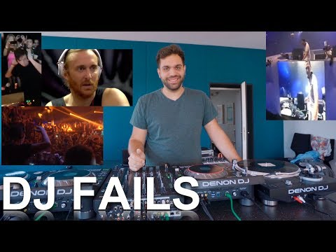 TOP 5 DJ FAILS - Explained and how to avoid them!