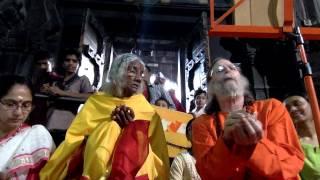 Chanting Rudrashtadhyayi in Trimbakeshwar temple