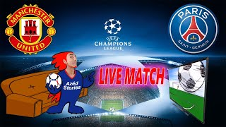 🔴🎥(LIVE MATCH) MANCHESTER UNITED - PARIS SG / LIGUE DES CHAMPIONS