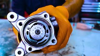 Honda Accord power steering pump reseal (part 1 of 2)
