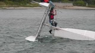 Jamie's Tornado Catamaran 2010-08-08