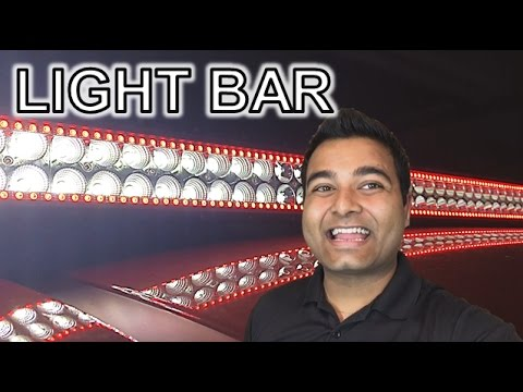 HALO LED LIGHT BAR!! (MULTI-COLOR)