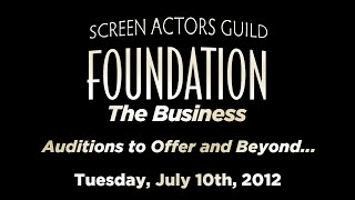 The Business: Auditions to Offer and Beyond...