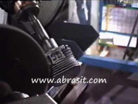 Robotic deburring of explosion motor housing finishing for Robotic motors or special motors