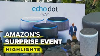 Amazon's surprise Echo event highlights: New Echos, Fire TV DVR and more