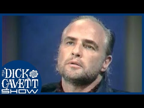 Marlon Brando on Rejecting His Oscar for 'The Godfather' | The Dick Cavett Show