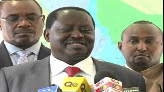 Raila Declines Offer to Vie For Homabay Senate Seat