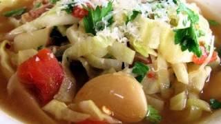 Cabbage & Butter Bean Soup