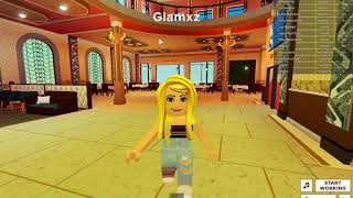 Roblox - singing BILLIE EILISH lyrics in public! - Glamxz