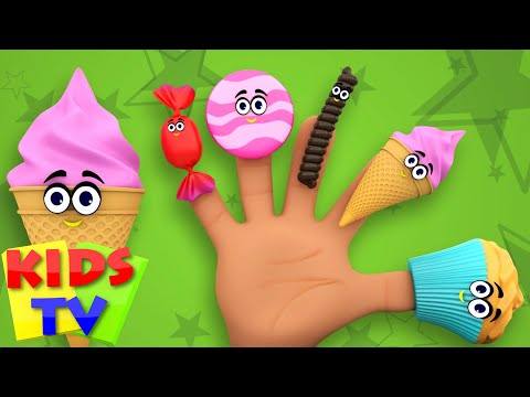 Food Finger Family | Nursery Rhymes For Kids And Childrens | Baby Songs