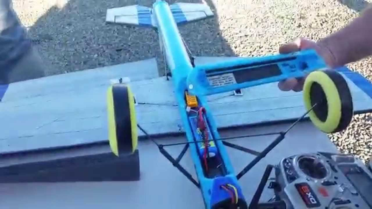 rc plane made of pool noodle on stu 39 s channel youtube. Black Bedroom Furniture Sets. Home Design Ideas