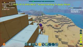 Temperature change insanity in pixark early access at launch! - this is just a little silly..