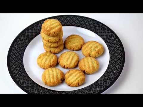 Almond Coconut Mini Cookies   Almond macaroons