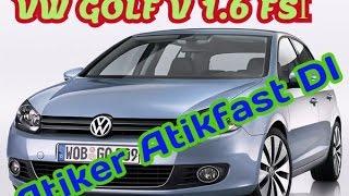VW Golf FSI Motora Otogaz Sistemi Olmaz Diyenlere Gelsin..Atiker Atikfast DI