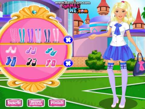 Детские игры для девочек одевалки