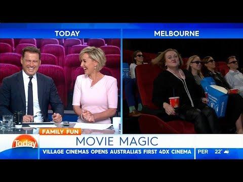 Australian-first 4DX cinema - Karl Stefanovic