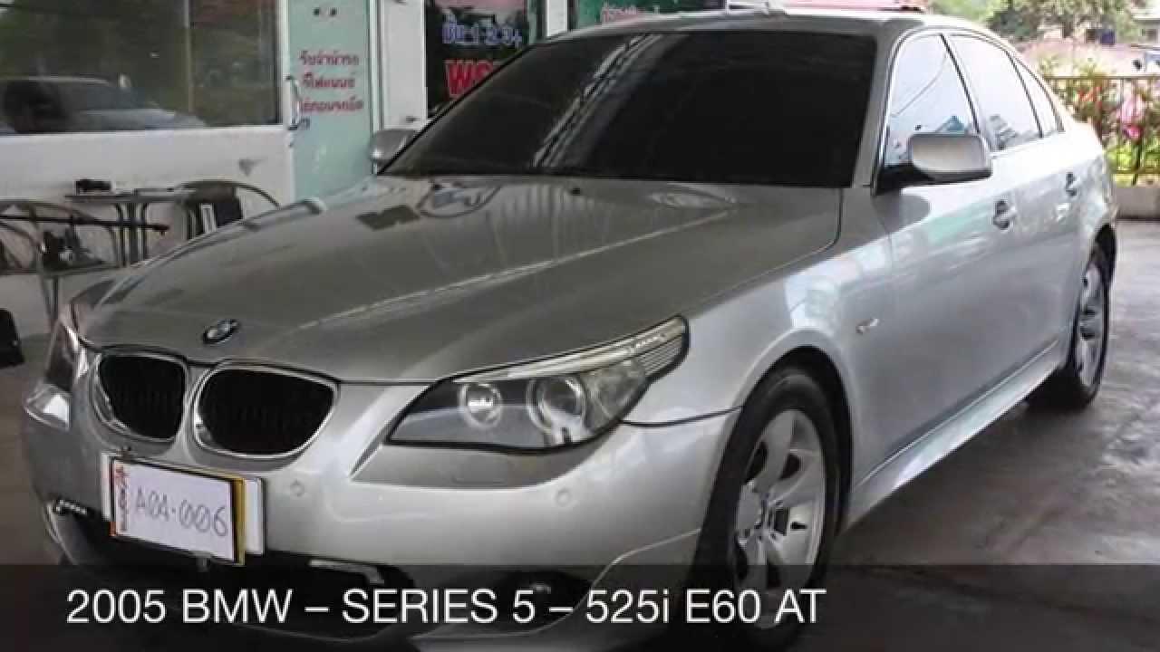 2005 bmw series 5 525i e60 at
