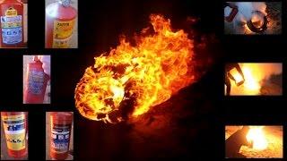 Тест огнетушителей(Обзор порошковых огнетушителей Меланти ОП-2, МИГ ОП-2, Ярпожинвест ОП-2, АПТВ ОП-3., 2015-10-24T20:20:05.000Z)