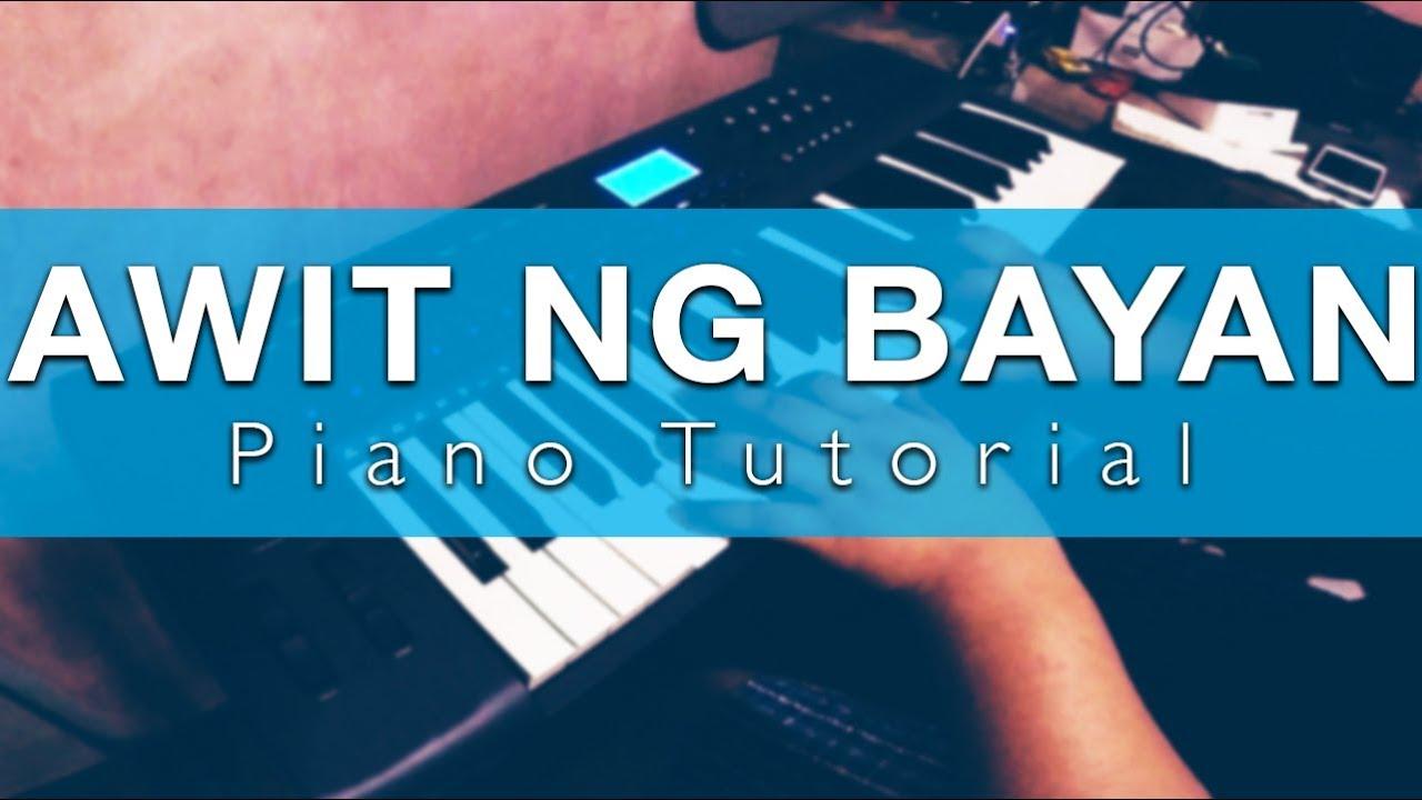 Awit ng bayan victory worship piano tutorial 2017 youtube awit ng bayan victory worship piano tutorial 2017 baditri Images