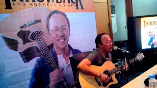 Noel Cabangon - Awit Ng Barkada (Live Performance During Album Press Conference 01/21/15)