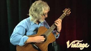 Vintage V2000MGG Gordon Giltrap Mahogany guitar