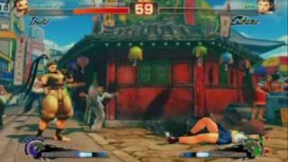 Super Street Fighter 4 - Gameplay Video 4