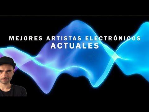 Artistas ELECTRÓNICOS más interesantes del S.XXI