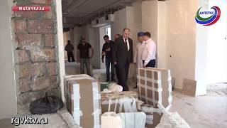 Депутаты НС проверили ход строительства нового корпуса Республиканского онкоцентра
