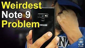 Samsung Note 9 Camera Problem - Hardware bug